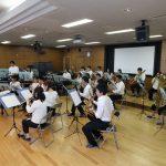 総会後はスノーヴァレイウインドオーケストラの演奏をお楽しみ頂きました。