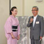 素敵な踊りをご披露下さった浅香さんへ、17期須田哲夫さん(フジテレビエグゼクティブアナウンサー)からインタビュー